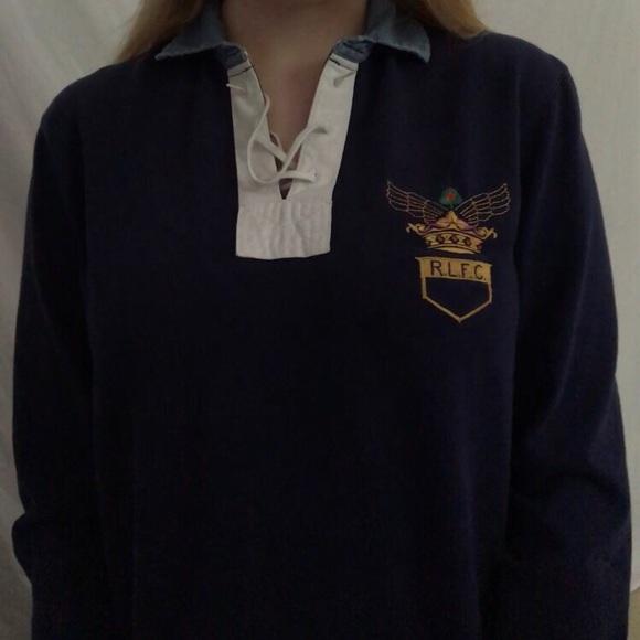 472f7fb4633 Ralph Lauren rugby shirt. M_5b2a889ce944bac902d886ca